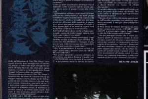 Buried by time and dust  (le interviste – Mortuary drape 1994)